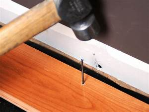 How to install prefinished solid hardwood flooring how for How to put down hardwood floors on concrete