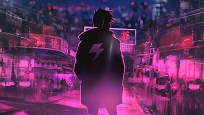 Neon Pink 4k Digital Artwork Wallpapers Zhong