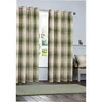 green check curtains curtains blackout net voile pencil pleat at homebase 1353