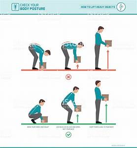 Proper Lifting Technique Stock Vector Art  U0026 More Images Of