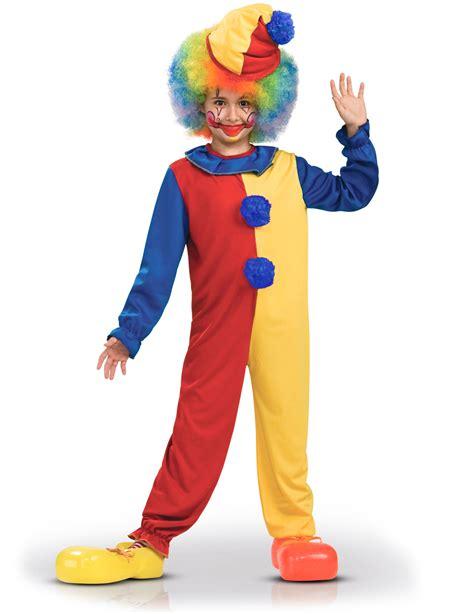 clown zirkus kostuem fuer kinder bunt guenstige faschings