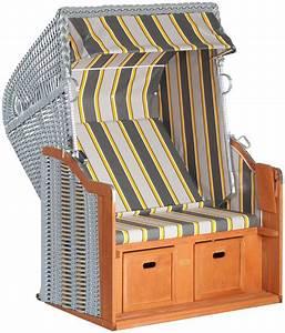 Sunny Smart Strandkorb : sunny smart strandkorb rustikal 250 basic 620 bxtxh 125x90x160 cm silberfarben online ~ Watch28wear.com Haus und Dekorationen