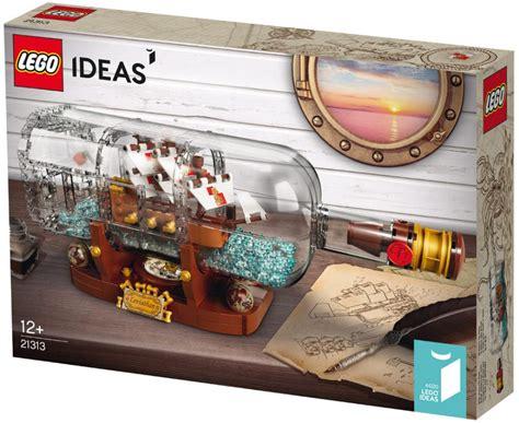lego ideas 2018 lego ideas schiff in der flasche 21313 offiziell vorgestellt zusammengebaut