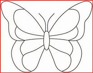 Schmetterling Schablone Zum Ausdrucken Kostenlos
