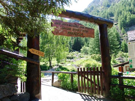 Ingresso Giardino giardino botanico alpino paradisia orto botanico d italia