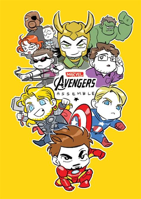images  marvel chibi  pinterest iron man