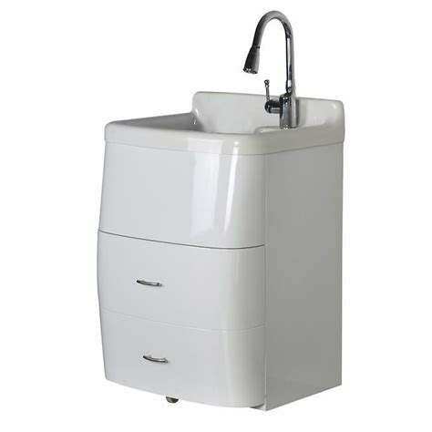 utility sink with storage westinghouse deluxe utility sink and storage cabinet