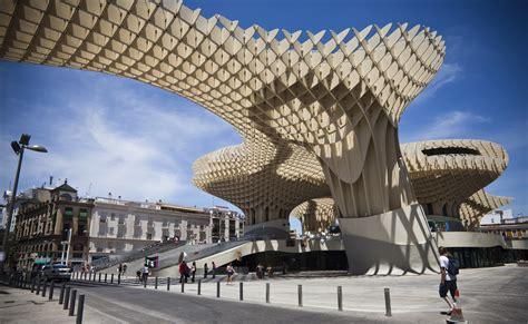 wallpaper metropol parasol sevilla tourism travel