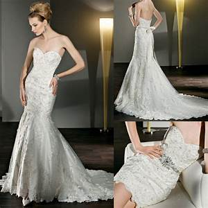 new style wd062 beaded strapless sweetheart mermaid lace With new style wedding dresses