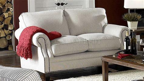 kitchen sofa furniture blue stripe sofas white blue striped fabric cottage