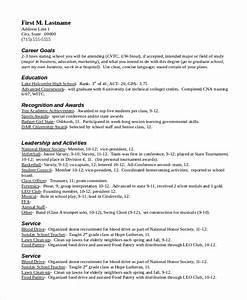 Scholarship Resume Example Download Scholarship Resume