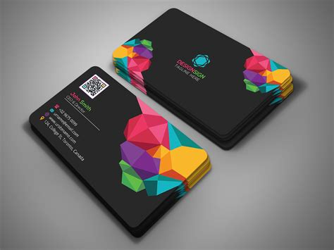 Poly Shape Business Card On Behance Business Card Costs Average Printing With Spot Uv Creative Sites Corporate Download Vereeniging In Sharjah Pretoria Holders Kate Spade