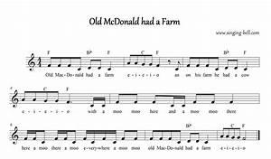 Old Macdonald Had A Farm Free Karaoke Nursery Rhymes