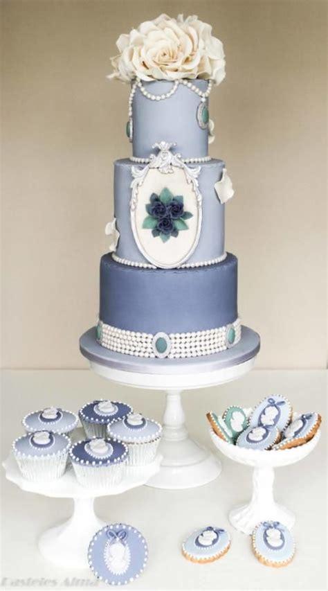 shabby chic cake designs shabby wedding shabby chic blue wedding cake 2055588 weddbook