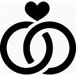 Ring Rings Icon Engagement Vector Icons Heart