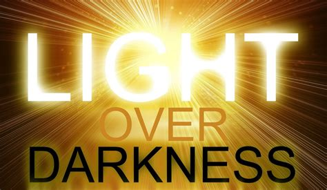 jesus is the light a light in the darkness