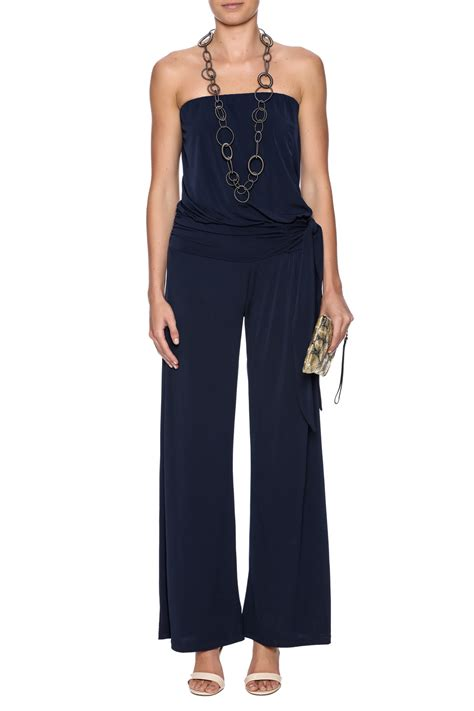 navy jumpsuit m navy jumpsuit from atlanta by sole shoes