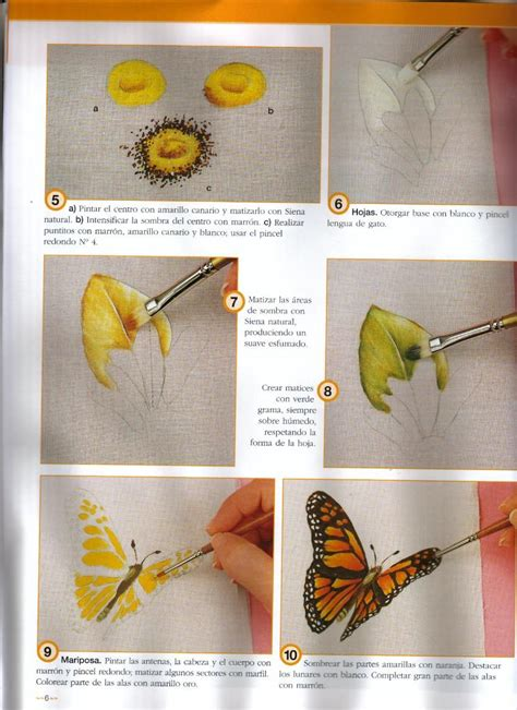 Flor com borboleta 3 #pinturadecorativatecnica painting