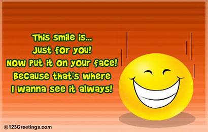 Smile Smiles Quotes Happy Send Face Animated