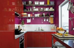 22 ideas to create stunning red and white kitchen design With kitchen cabinet trends 2018 combined with red sticker season