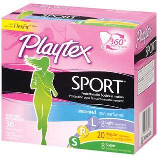 playtex sport light tons playtex tons multi pack unscented 8 light 20 regular 8