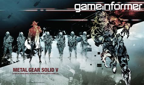 Game Informer March Cover To Feature Mgsv New Shinkawa