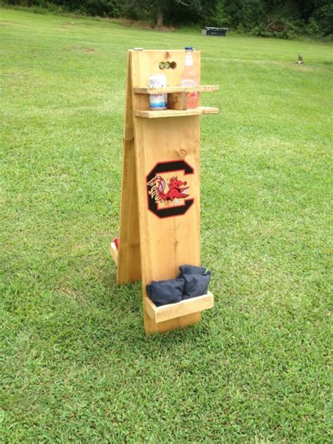 Backyard Scoreboard by Boards Score Tower Keeper With Drink Holder And