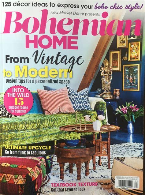 bohemian home magazine     element bohemian