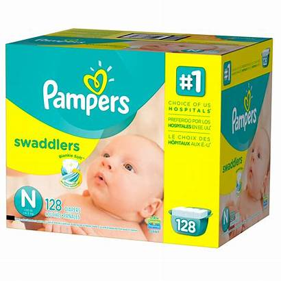 Pampers Diapers Swaddlers Newborn Count Walmart Pack