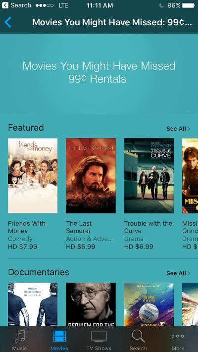 Rent Itunes Movies For 99 Cents  Page 1 Appledystopia