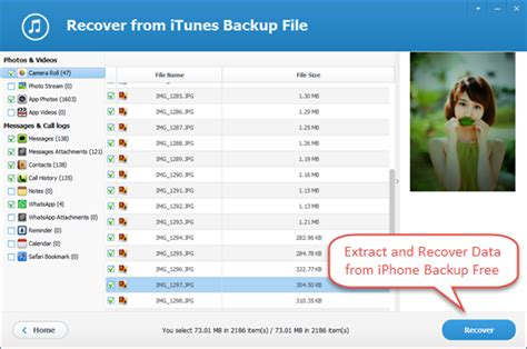 iphone backup viewer free iphone backup extractor tool to extract iphone backup