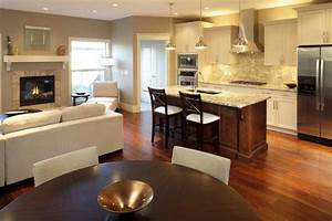 16 smart ideas to decorate small open concept kitchen With open floor plan kitchen design