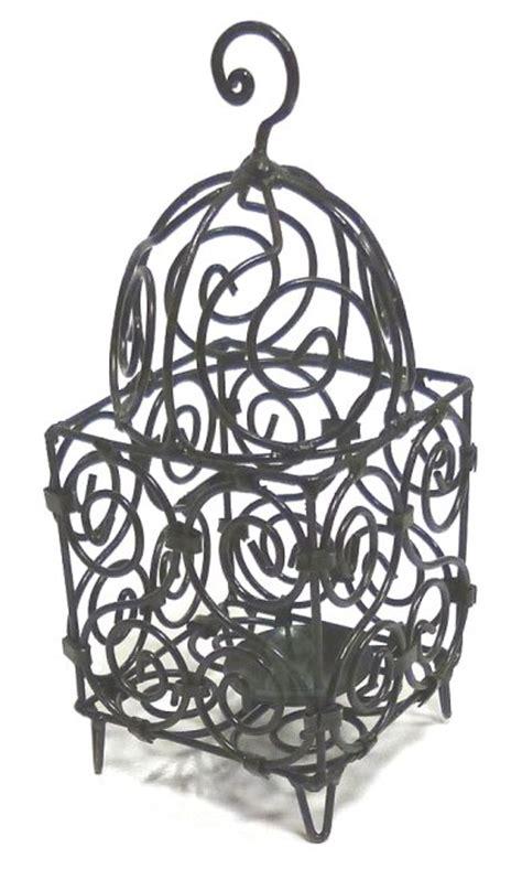 le marocaine fer forge lanterne marocaine en fer forg 233 salk noir verniss 233 objet de d 233 coration ou oeuvre