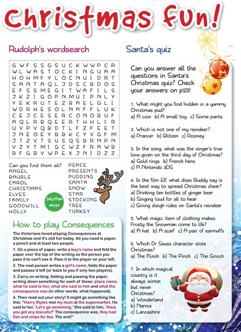 christmas puzzles the local leader magazine