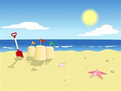 Cartoon Beach Background Clipart Cartoons Backgrounds Cliparts
