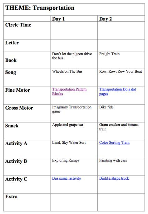 transportation preschool more excellent me 186 | transportation lesson plan picture