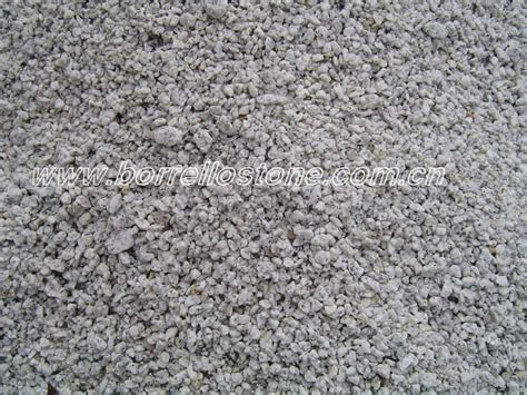 decorative white marble crushed in gravel crushed