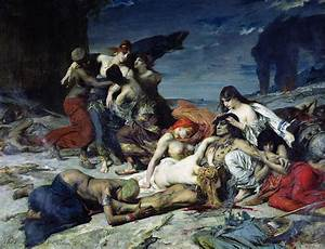 The Death Of Ravana Painting by Fernand Cormon