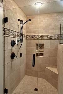 Beautiful walk in shower Bathrooms Pinterest