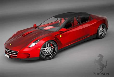 2008 Ferrari 4door Concept  Classic Cars Today Online
