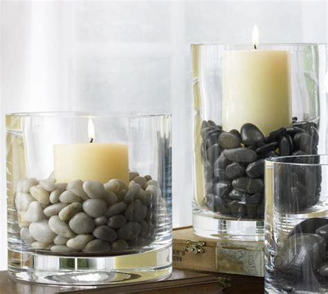 river rock vase filler   spare time home decor