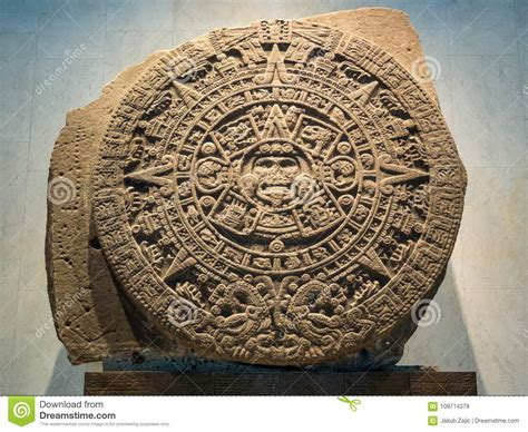 The Mayan Calendar, Inca, Aztec, End Of The World Prophecy Editorial Stock Photo  Image Of