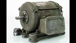 Old Electric Motor Restoration