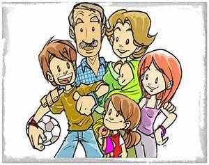 Imagenes de Caricaturas de Familias Imagenes de Familia
