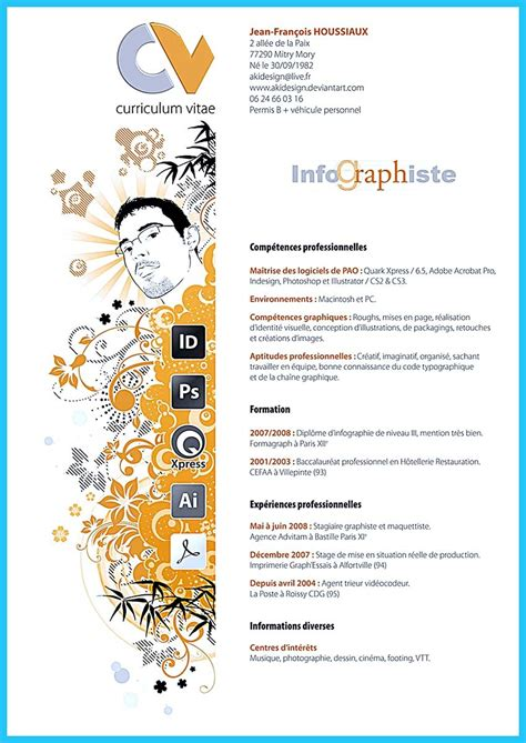 creative artistic resume  artistic job company
