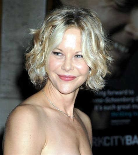 Pictures of Meg Ryan Short Bob Hairstyle With Curls