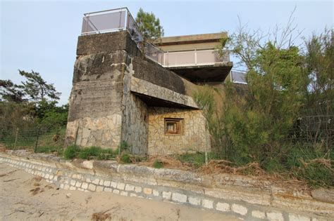 concrete bunker house hitlers atlantic wall