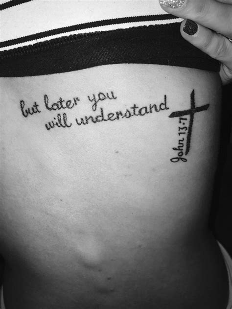 i like the cross with the versus next to it | Tatts | Tattoos, Verse tattoos, Bible verse tattoos