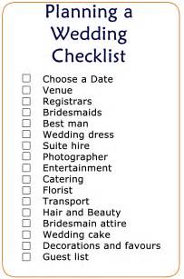 wedding checklist and planner printable wedding checklist