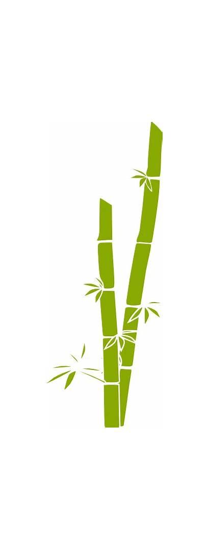 Bamboo Clip Clipart Vector Clker